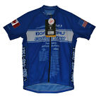 new Louis Garneau Equipe Euro Diamond fabric cycling jersey Made in USA msrp:$85