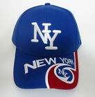 "4 COLORS NEW YORK ""NY"" 3D EMBROIDERED BASEBALL CAP SPORT FASHION ADJUSTABLE HAT"