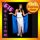 G21 Ladies Cleopatra Egyptian Goddess Fancy Dress Halloween Costume & Headband