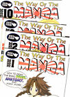 The Way Of The Manga -  OZIE Team  -  Vol 1-10  Collect Them All --  IMPORTED