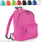 Childrens Junior Backpack Rucksack Kids Plain School Bag Smart Sports Swimming