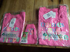 NWT Daisy Girl Scout T-shirt pink sz XS or XXS with matching t-shirt for plush