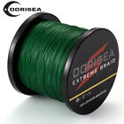 Top Quality PE Dyneema Dorisea Braided Fishing Line Moss Green 500M/547yards MG