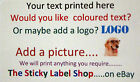 PERSONALISED LABELS - MEDIUM SIZE 67mm x 99mm - GOLD, SILVER, CLEAR AND COLOURS