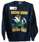 NOTRE DAME FIGHTING IRISH NCAA YOUTH KIDS LOGO SWEATSHIRT SM MED LG *SALE*