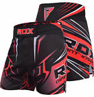 RDX MMA Shorts Grappling Training Gym Kick Boxing Sports Muay Thai Cage Fighting