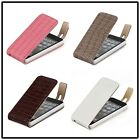 Crocodile Leather Wallet Flip Case Cover For iPhone 5  K0540