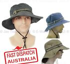 Cowboy Cotton Gardening Outdoor Hiking Bush Walking Fishing WIDE BRIM SUN HAT
