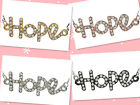 "5pc ""Hope"" Charm Bead Link Connector C0569"