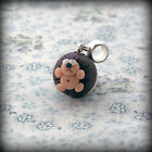Hedgehog, bracelet Charm, fits Any Euro Bracelet Funky Cute Kitsch