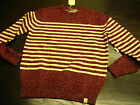 50 & DEAN FLY 53 BLACKBIRD KNIT / SWEATER / JUMPER RED  WITH TAGS 50% OFF SRP