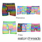 NEW Mens Crosshatch Boxer Shorts Boxers Pants Patterned Underwear Size S M L XL
