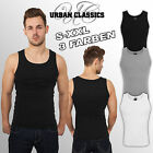 URBAN CLASSICS 1BY1 RIB SLIM TANKTOP TANK TOP STRETCH T- SHIRT MUSKEL MUSCLE