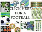 Football party range party bags fillers cups plates rubbers banners FREE POSTAGE