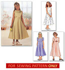 SEWING PATTERN! MAKE FLOWER GIRL DRESS~1ST COMMUNION! CHILD 7~10 OR GIRL 14~16