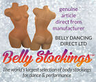 BELLY DANCE BODY STOCKING DANCE WEAR CARNIVALS TAN UNDER BUST THONG ALL SIZES