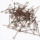 Wholesale Mixed Smooth Iron Eye Head Pins Fit Jewelry Making Findings 22mm