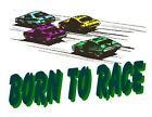 Custom Made T Shirt Born To Race Racing Racer Cars Sports Choice