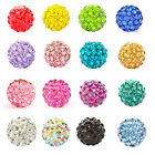 Busy Bead 10mm Clay Crystal Rhinestone Pave Round Disco Ball Beads for Shamballa