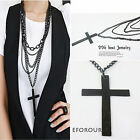 FREE SHIP 1pcs Fashion Personality Multilayer Cross Necklace N31