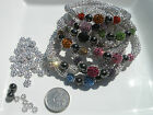 Pretty Mini Shamballa Style Sparkly Bracelet Kit - No Tools Required- Girls/Slim