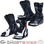 BLACK ZERO AIR CE APPROVED MOTORCYCLE MOTORBIKE VENTED SPORT PERFORMANCE BOOTS