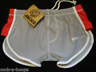 JOCKO Silver Gray/Red Swimwear LEX Runner Square Cut Men's Shorts NWT Size Small