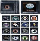 CHOOSE TEAM Money Clip Card Holder New Highest Quality Leather NFL has ID Window