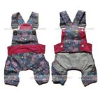 Free Ship Dog Pants Suspender Trousers Jumpsuits Dog Apparel Clothing Clothes