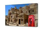 HOLIDAY PHONE BOX MODERN ART CANVAS A3,A2,A1,A0 ART PRINT BOXED  EZ0198
