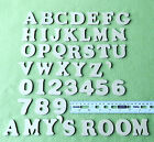 40mm MDF Craft Letters Wooden Alphabet Letters - Set of wood letters shapes