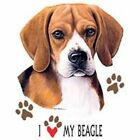 Beagle Love Long Sleeve T Shirt Pick Your Size