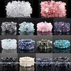 Fashion Natural Gemstone Crystal Quartz Chip Beads Band Bracelet Stretchy Bangle