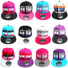ADULTS MENS LADIES NEW YORK NY STATE STRIPES SNAPBACK HIP HOP BASEBALL CAP HAT