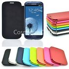 For Samsung Galaxy S3 i9300 Slim Hard Luxury Case Cover Flip Leather PU 8 colors