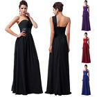 FREE SHIP Celebrity Bridesmaid Evening Formal Party Gown Prom Long Chiffon Dress