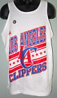 LOS ANGELES CLIPPERS MEN'S WHITE NBA TANK TOP