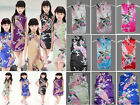 New Asian Indian Chinese Pakistani Girls Dress PEACOK Silk Party Gift 12M-13Yrs