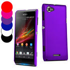 Hybrid Hard Case Cover For Sony Xperia L+ Screen Protector
