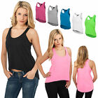 URBAN CLASSICS DAMEN LADIES WIDE TANK TOP TANKTOP SHIRT LOOSE T-SHIRT XS-XL