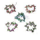 "80"" Beautiful Wedding Hydrangeas Garland silk flowers wreaths Vine w/ Ivy Leaves"