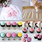 New 24pcs Nozzles + 100pcs Icing Piping Bags Cake Pastry Decorating Tools