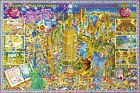 New New York City By Michael Ryba Poster