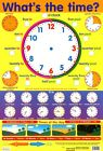 New What's The Time? Around The Clock Learning Poster