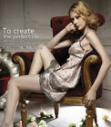 Women's Sexy Pajamas Sleepwear Dress Nightgown Night Skirt Lace  imitated silk