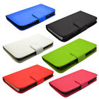 Pu Leather Flip Wallet Phone Case Holder For Huawei Ascend Y300 + Free Screen