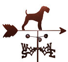 Hand Made AIREDALE DOG Weathervane ~NEW~