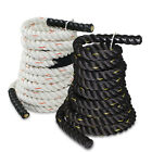 "1.5"" / 2"" Poly Dacron 30/40/50/75/100ft Battle Rope Workout Training Undulation"