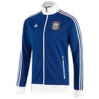 adidas Argentina 2013 Soccer Anthem Jacket Royal / White Brand New