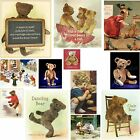 Teddy Bear Picture Fridge Magnet Pick Fave Dancing Xmas Get Well Personalized
